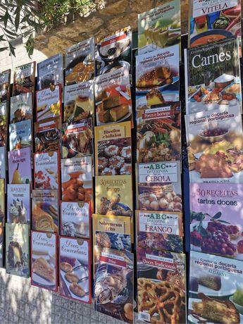 Livros de receitas de culinária