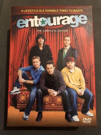 DVD! Płyta! Serial ENTOURAGE!Sezony 1-6! Okazja!25 płyt!