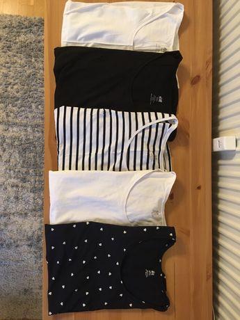 Bluzki ciążowe H&M komplet