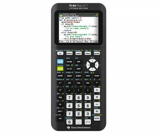Calculadora gráfica TI-84 Plus CE-T (Python Edition)