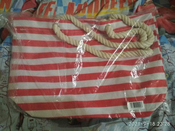 Пляжная сумка новая