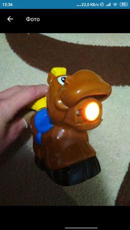 Фонарик fisher price лошадка