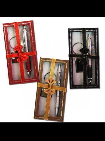 Набор подарочный ручка+брелок