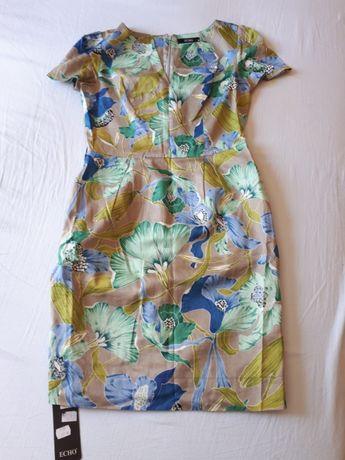 Piękna, letnia, cienka sukienka