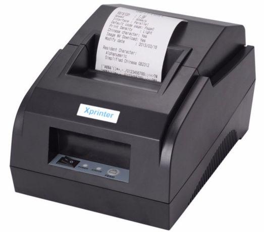 Термопринтер Xprinter XP-58IIL принтер для чеков usb 58мм для магазина