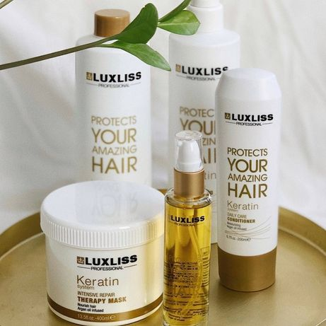 ORIGINAL Luxliss уход для волос шампунь кондиционер маска масло спрей
