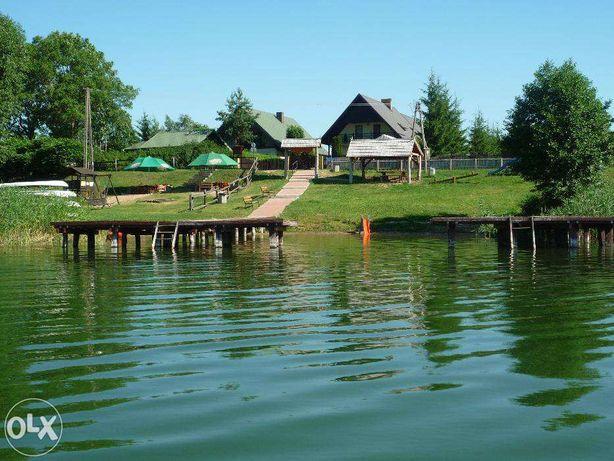 Dom, Noclegi, Pokoje- Ateny koło Augustowa,nad jeziorem Blizno.