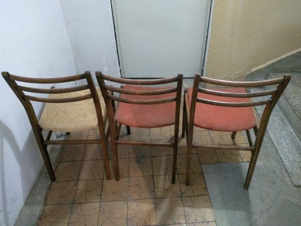Komplet Krzesła PRL