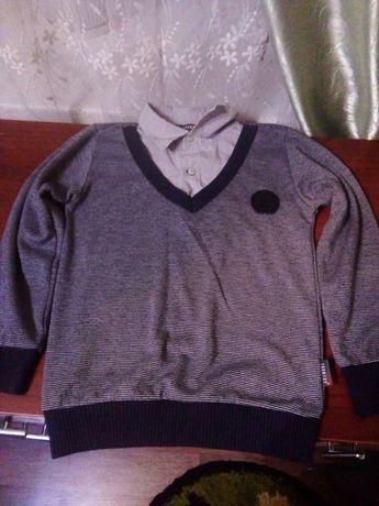 Кофта рубашка на мальчика.