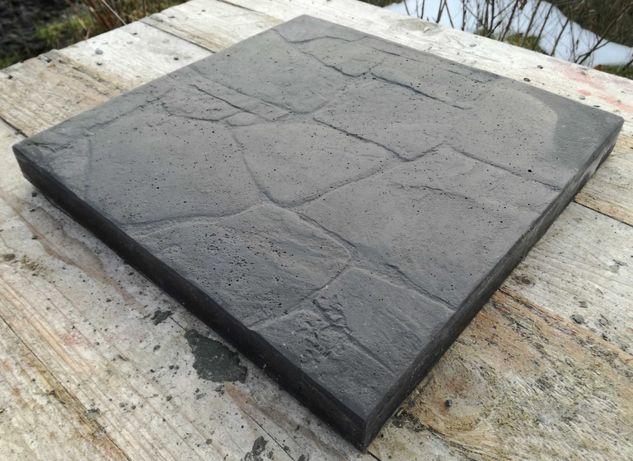 Płyty/Płytki chodnikowe tarasowe betonowe 30x30x3 Grafit