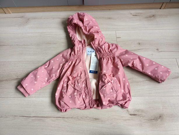 Nowa kurtka wodoodporna, ocieplana rozmiar 80 5.10.15