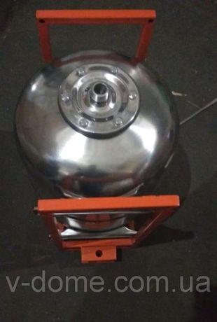 Опрыскиватель АТВ-50 для мотоблока (50 л) нерж на квадратной трубе