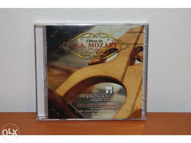 Orquestra do Algarve - Mozart  250 anos - CD novo