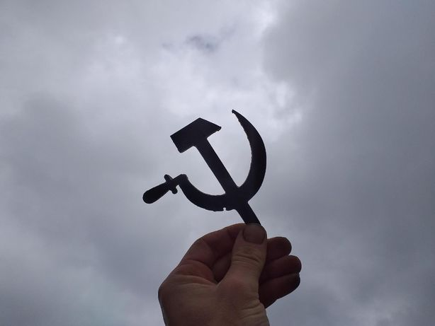 Значок СССР (серп и молот )