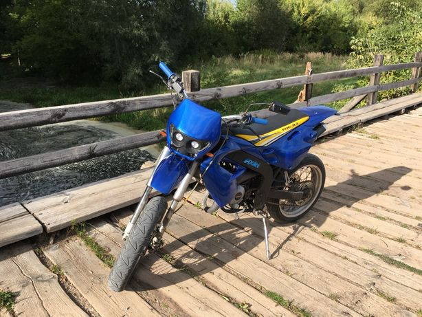 Rieju smx cross super moto sm 50/70 malina