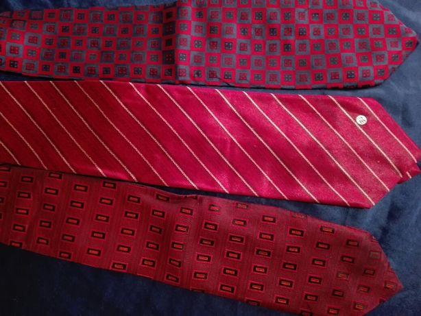 Шелковые галстуки.( Одним лотом, 11 штук.)