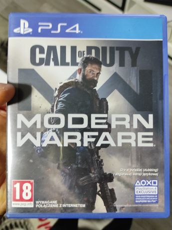 Call of duty modern warfare  PS 4 PL