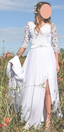 Suknia ślubna Mabell projektantki Violi Piekut