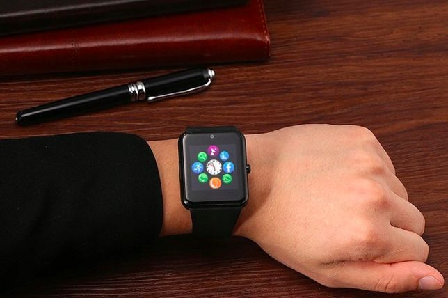 Smartwatch Super Zegarek z SIM, SMS Bleutooth, model 2021, jak Apple
