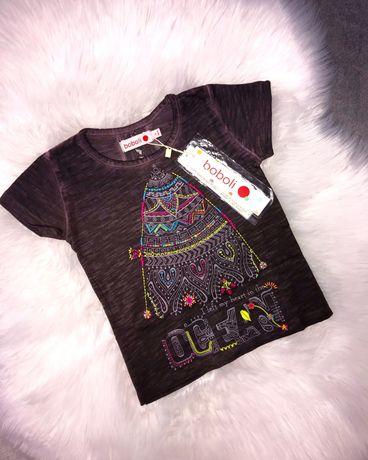 Новая футболка Boboli на девочку 3 года, 98 см