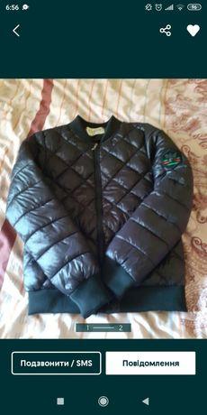 Куртка бомпер для дівчинки