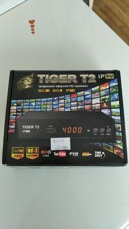 Цифровой эфирный приемник Tiger T2 iptv