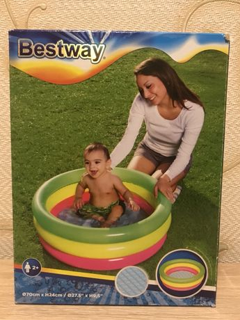Бассейн надувной для ребенка