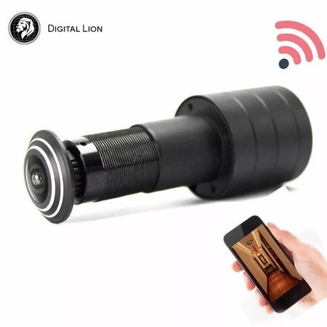 Видеоглазок wifi с датчиком движения и записью DE178, 2 Мп, 1080P