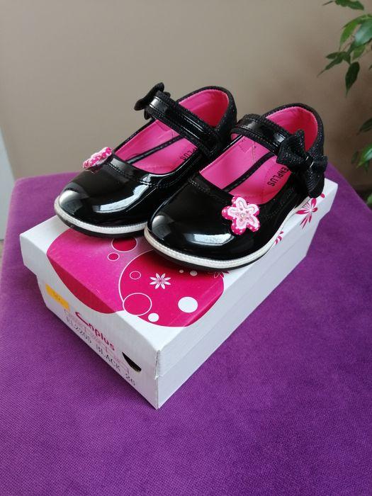 Buty lakierowane baleriny/pantofelki Piszczac - image 1