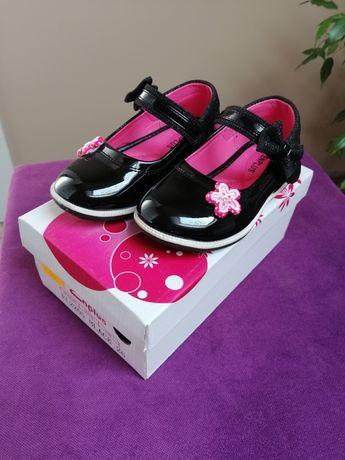 Buty lakierowane baleriny/pantofelki