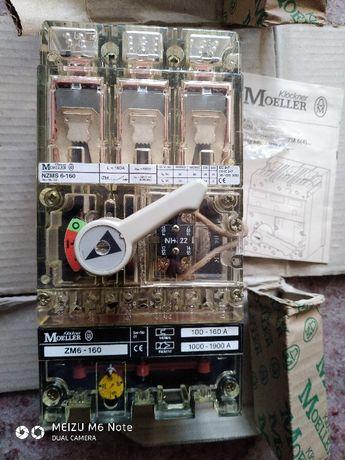 Автоматичний вимикач NZMS6-160/ZM6-160