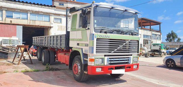 Volvo F10 6x2 basculante impecavél