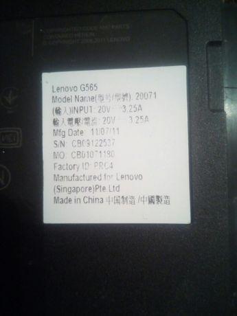 Ноутбук Lenovo g565 корпус