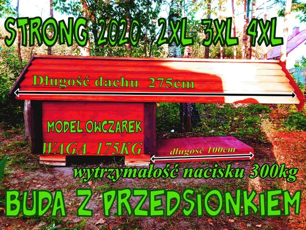 Buda dla Psa Owczarek Niemiecki grubość ściany 9 CM ! ! ! PROMOCJA