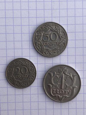 Цінні монети Злотий 1923 1929 p. Нікель Колекціонеру Ідеал