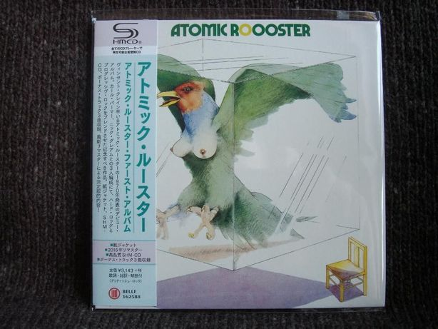ATOMIC ROOSTER Atomic Rooster Japan-mini LP SHM-CD 2016