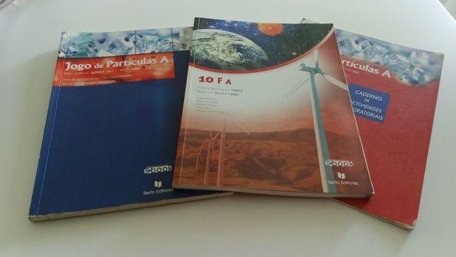 Livro Escolar de Quimica e Fisica A do 10-11ºano