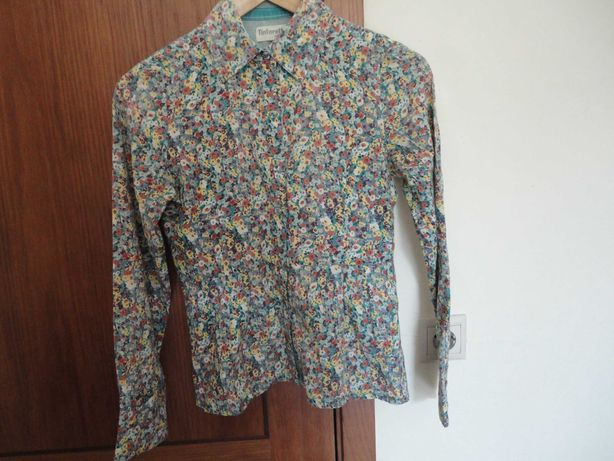Blusa florida TINTORETTO - Tamanho S