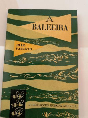 Livro A Baleeira de João Falcato 1ª edição 1958