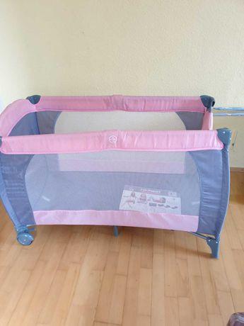 łóżeczko turystyczne dla dziecka uszkodzone