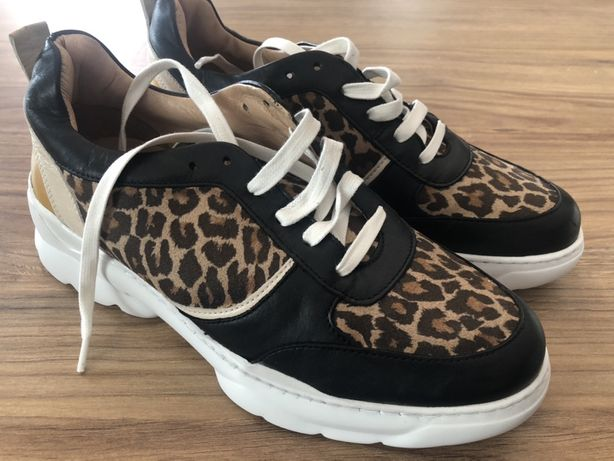 Nowe skórzana buty sportowe, rozm. 39, UK