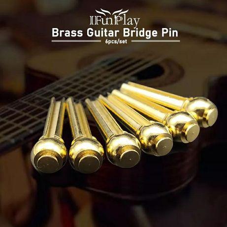 Латунные колышки для гитары латунь