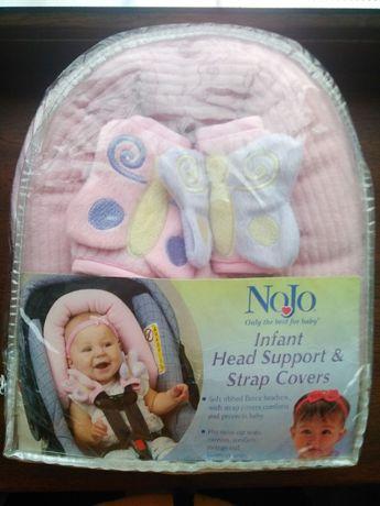 Подушка в авторесло, коляску, кроватку для новорожденого Nojo
