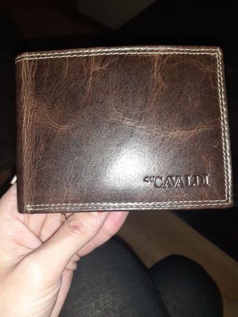 Skórzany portfel meski