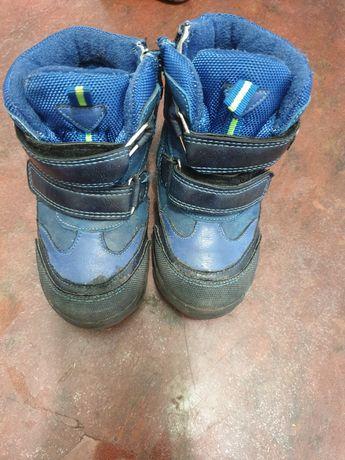 Зимние  термо ботинки сапожки на мальчика р.23