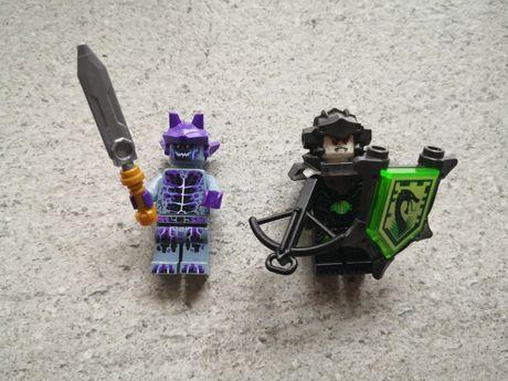 Lego Nexo Knights figurki Kamienny Wojownik i Wirus