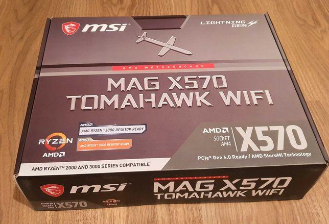 Motherboard ATX MSI MAG X570 Tomahawk WiFi (Nova e embalada)
