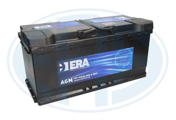 NOWY Akumulator AKUMULATOR AGM 105AH 910A P+ 394X175X190 ERA SZT ERA