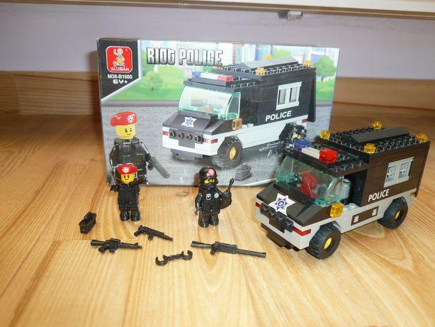 Klocki Sluban M38-B1600 Riot Police kompatybilne z Lego