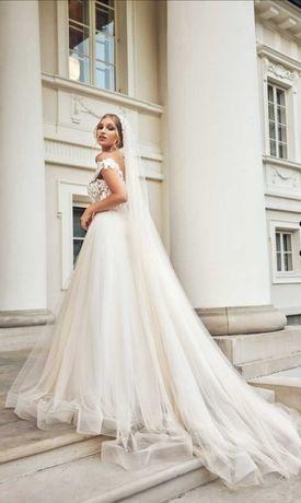 Suknia ślubna Izabeli Janachowskej